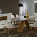 Mesa-Carol-Cadeiras-Mary-e-Lisa-Buffet-e-Cristaleira-Vienna